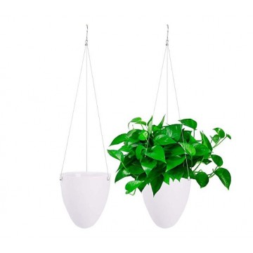Self-Watering Hanging Planter Flower Pot