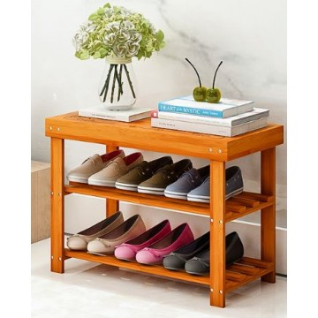 2-Tier Bamboo Shoe stand