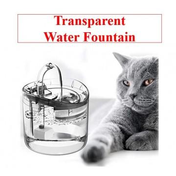 Pet Transparent Water Fountain