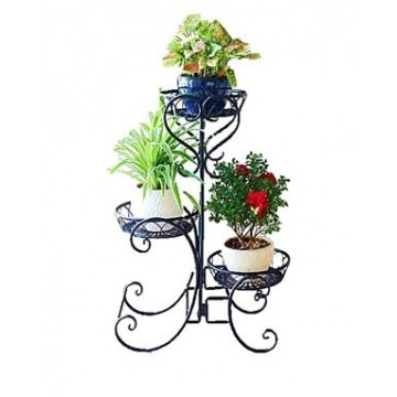 Metal plant stand Flower Rack (3color)