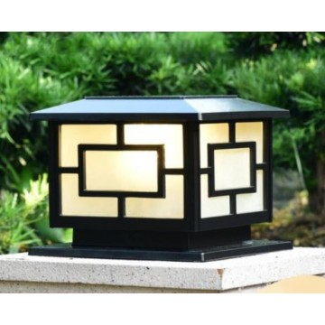 Outdoor Square Waterproof Solar Lamp Post Led Light
