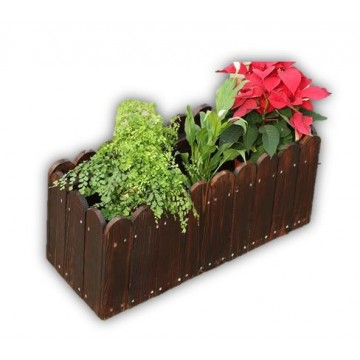 Durable Wooden Planter Box Growing Herbs Vegetable