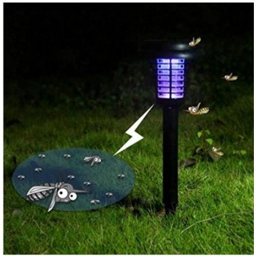 Anti Mosquitoes Solar Light Stakes