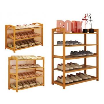 Bamboo Shoe Rack / Organizer