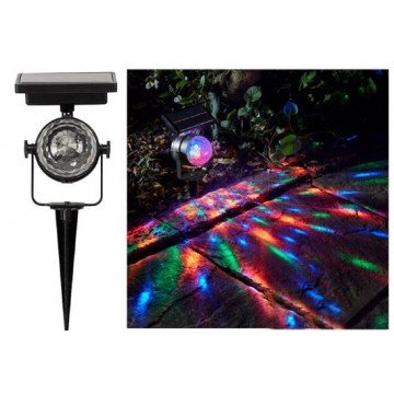 Rainbow Garden Stake solar light