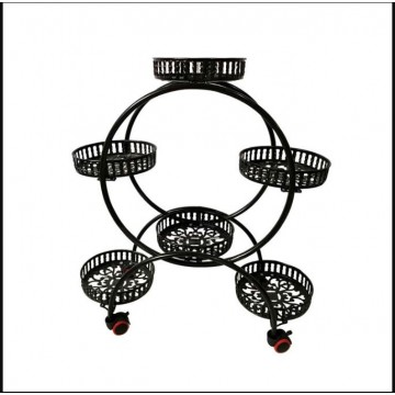 Rounded 6 tier Plant Rack - Wholesaler
