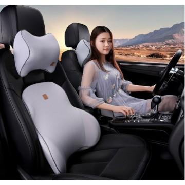 3D Car seat Cushion/ MEMORY FOAM/Neck supporter/ Shoulder Back supporter/ Neck Rest