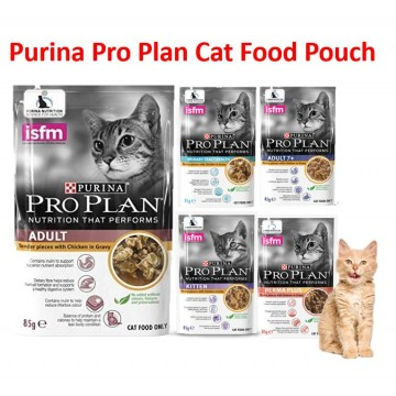 PURINA® Pro Plan Wet Pouch Cat Food 85g