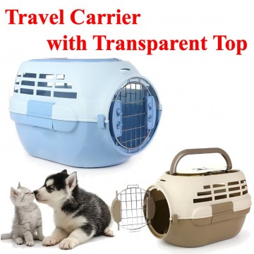 Travel Carrier With Transparent Top 28
