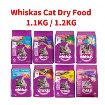 Whiskas Cat Dry Food 1.1KG / 1.2KG