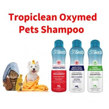 Tropiclean Oxymed Oatmeal Pets Shampoo