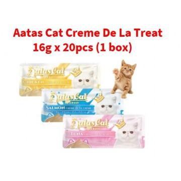 Aatas Cat Creme De La Treat 16g x 20pcs