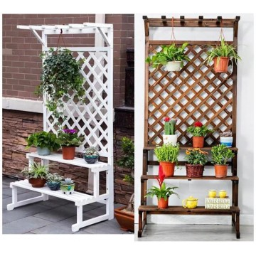 2-3-tier Wooden  Plant Stand - Wholesaler