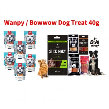 Wanpy Dog Treat / Bowwow Dog Treat Stick Jerky