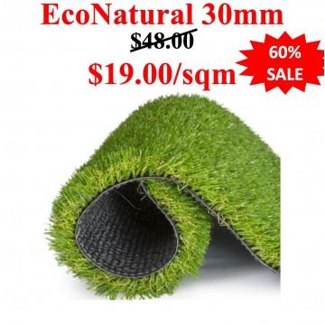 EcoNatural 30mm  (Length:0.5m per order)(Fix Width:2m)