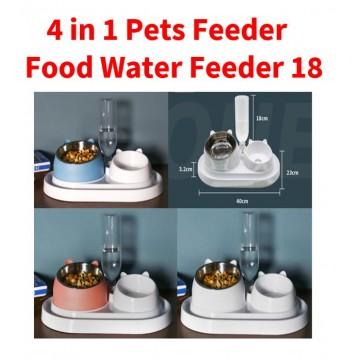4 in 1 Pets Food Water Feeder 18