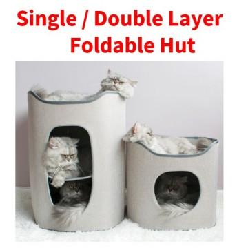Single / Double Layer Foldable Hut
