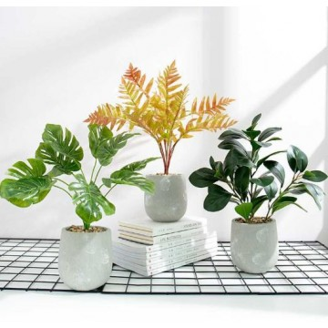 Artificial Plants / Tree With Pots ( 6 Types )