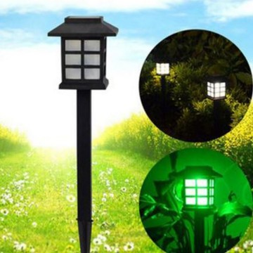 Outdoor Solar Light Stake Square