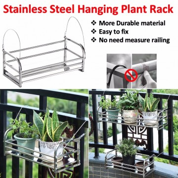 Stainless Steel Hanging Plant Rack