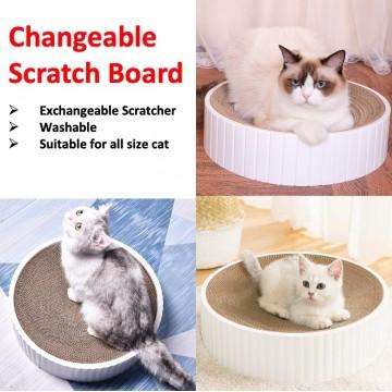 Changeable Scratch Board Cat Toy Cat Relax Board