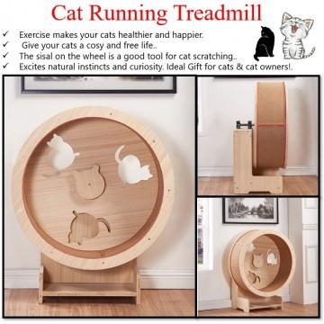 Cat Running Pet Treadmill Trainer Runner Fitness Toy