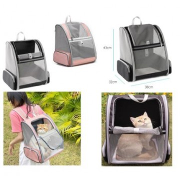 Pet Carrier with Curtain