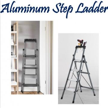Aluminium Step Ladder ( 3/ 4 / 5 Steps)
