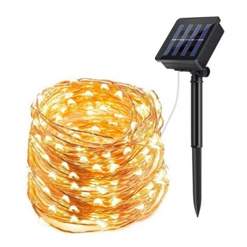 Solar Powered String Lights (White Color ,Four Color)