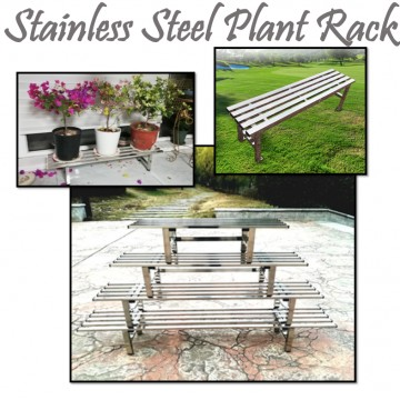 Stainless Steel Plant Rack(1 Tier)