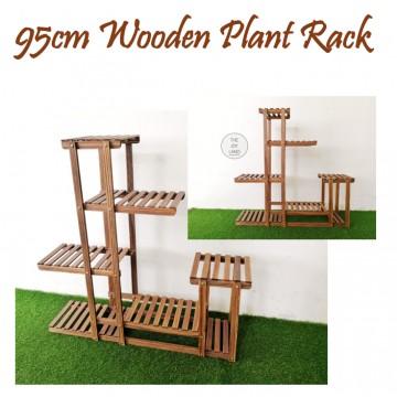 95cm Wooden Plant Rack