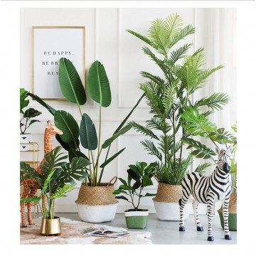 [BIG PLANT][Plant 01- Plant 10]Large Artificial Plant/Tree/Flower For Home Decor /Artificial Tree Indoor Plants