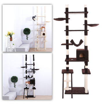 5 Tier Ceiling Cat Scratching Pole
