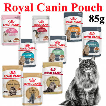 [ROYAL CANIN POUCH] Royal Canine Premium Cat Breed Kitten Wet Food Pouch 85g
