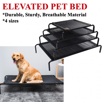 ★ Elevated Trampoline pet bed dog cat mesh cooling ★
