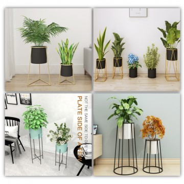 [PLANTER]Wrought Iron Flower Pot Rack / Plant Pot/ Stand