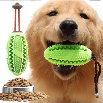 [MOLAR]Dog Molar Ball Toy Puppies Training Food Dental Chew Portable