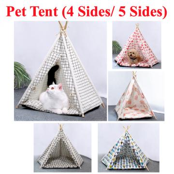 [PET TENT] 4 Sides 5 Sides Soft Plush Nice DIY Cat Dog Puppy Kitten