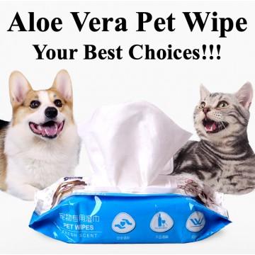 Aloe Vera Pet Wipe