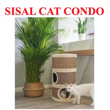 [SISAL CAT CONDO]Premium Sisal Pole