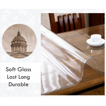 ★table mat 1.5mm Thickness ★Customise Size★1M Width★Transparent PVC Mat/ Soft Tampered Glass Mat