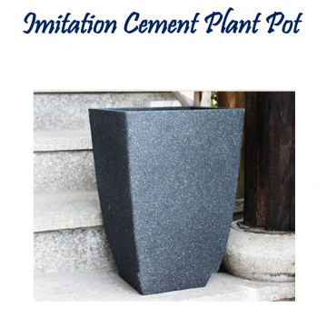 Imitation Cement Plant Pot