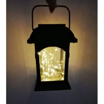 Solar Powered Hanging Lanterns for Patio Pathway Lawn Decor