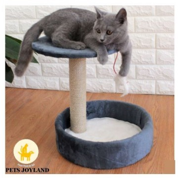 Small Comfy Cat Scratching Condo for Cats and Kittens