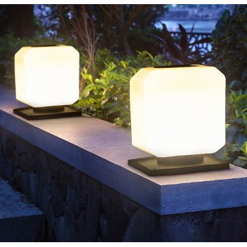 Square Solar LED Pillar Lamp Type TT