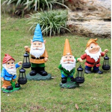 Dwarfs Solar Light Decor