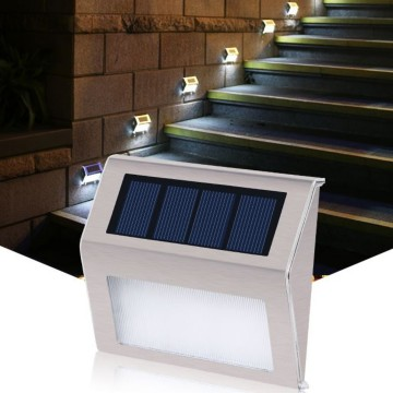 Contemporary Outdoor Walk Way Solar Light