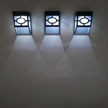 Parisian Design Solar Wall Light
