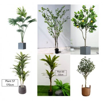 [BIG PLANT][Plant 40- Plant 55]Large Artificial Plant/Tree/Flower For Home Decor /Artificial Tree Indoor Plants