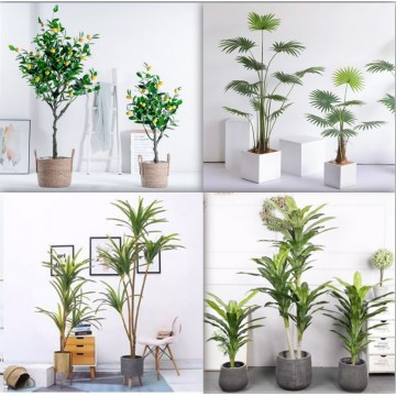 [ Plant 56-70]  Large Artificial Plant /Tree/Flower For Home Decor